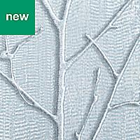GoodHome Obetia Teal Tree Metallic effect Wallpaper