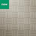 Grey Parquet effect Self adhesive Vinyl tile, 1.21m² Pack