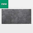 GoodHome Poprock Dark grey Stone effect Self adhesive Vinyl tile, 1.3m² Pack
