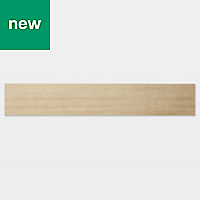 GoodHome Poprock Natural Wood effect Self adhesive Vinyl plank, 0.97m² Pack
