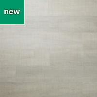 GoodHome Poprock Silver Wood effect Self adhesive Vinyl plank, 1.11m² Pack