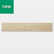 GoodHome Poprock Natural Wood effect Self adhesive Vinyl plank, 1.2m² Pack