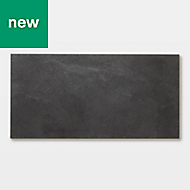 GoodHome Bachata Slate Tile effect Luxury vinyl click flooring, 2.6m² Pack