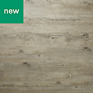 GoodHome Bachata Pecan Wood effect Luxury vinyl click flooring, 2.56m² Pack