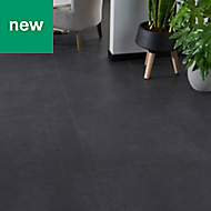 GoodHome Jazy Slate Tile effect Luxury vinyl click flooring, 2.23m² Pack