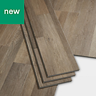 GoodHome Jazy Multi-grey Wood effect Luxury vinyl click flooring, 2.2m² Pack