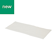White Disposable dusting wipes