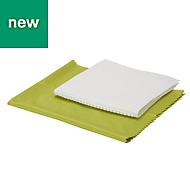Microfibre Window cloth kit, Pack of 2