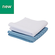 Microfibre Bathroom cloth kit, Pack of 2