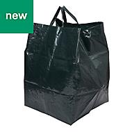 Verve Green Woven polypropylene Clear away bag 220L