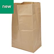 Verve Kraft Paper Garden compostable paper sack 150L