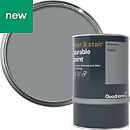 GoodHome Durable Delaware Matt Floor & stair paint 0.75L