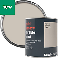 GoodHome Durable Tijuana Satin Multi-surface paint 750ml