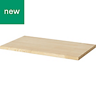 GoodHome Talland Ash Bathroom Worktop, (W)455mm