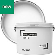 White Matt Emulsion paint 2.5L