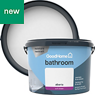 GoodHome Bathroom Alberta Soft sheen Emulsion paint 2.5L