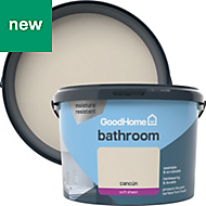 GoodHome Bathroom Cancun Soft sheen Emulsion paint 2.5L