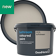 GoodHome Bathroom Merida Soft sheen Emulsion paint 2.5L