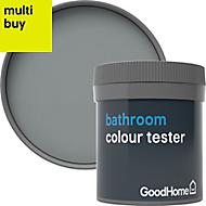 GoodHome Bathroom Delaware Soft sheen Emulsion paint 0.05L Tester pot