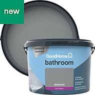 GoodHome Bathroom Delaware Soft sheen Emulsion paint 2.5L