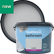 GoodHome Bathroom Melville Soft sheen Emulsion paint 2.5L
