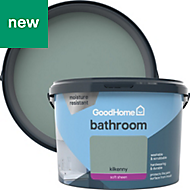 GoodHome Bathroom Kilkenny Soft sheen Emulsion paint 2.5L