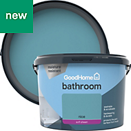 GoodHome Bathroom Nice Soft sheen Emulsion paint 2.5L