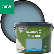 GoodHome Kitchen Monaco Matt Emulsion paint 2.5L