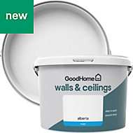 GoodHome Walls & ceilings Alberta Matt Emulsion paint 2.5L