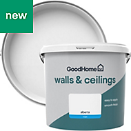 GoodHome Walls & ceilings Alberta Matt Emulsion paint 5L
