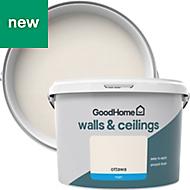 GoodHome Walls & ceilings Ottawa Matt Emulsion paint 2.5L