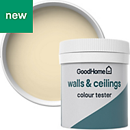 GoodHome Walls & ceilings Toronto Matt Emulsion paint 0.05L Tester pot