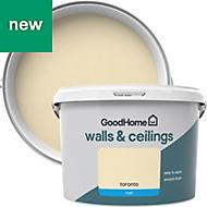 GoodHome Walls & ceilings Toronto Matt Emulsion paint 2.5L