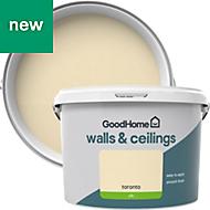 GoodHome Walls & ceilings Toronto Silk Emulsion paint 2.5L