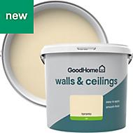 GoodHome Walls & ceilings Toronto Silk Emulsion paint 5L