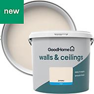 GoodHome Walls & ceilings Juneau Matt Emulsion paint 5L