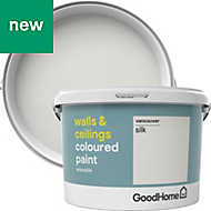 GoodHome Walls & ceilings Vancouver Silk Emulsion paint 2.5L