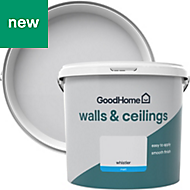GoodHome Walls & ceilings Whistler Matt Emulsion paint 5L