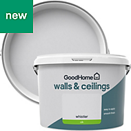 GoodHome Walls & ceilings Whistler Silk Emulsion paint 2.5L