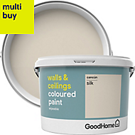 GoodHome Walls & ceilings Cancun Silk Emulsion paint 2.5L