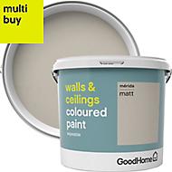 GoodHome Walls & ceilings Merida Matt Emulsion paint 5L