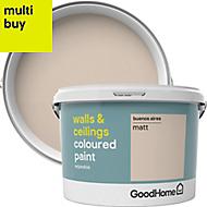 GoodHome Walls & ceilings Buenos aires Matt Emulsion paint 2.5L