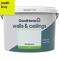 GoodHome Walls & ceilings Hamptons Silk Emulsion paint 2.5L