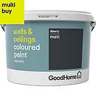 GoodHome Walls & ceilings Liberty Matt Emulsion paint 2.5L