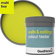 GoodHome Walls & ceilings Cabra Matt Emulsion paint 0.05L Tester pot