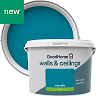 GoodHome Walls & ceilings Marseille Silk Emulsion paint 2.5L