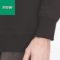 Site Wingleaf Black Sweatshirt Medium