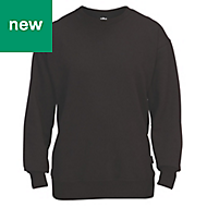 Site Wingleaf Black Sweatshirt Large