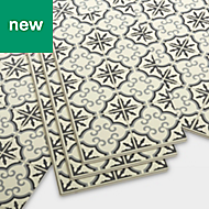 GoodHome Jazy Flower Mosaic effect Luxury vinyl click flooring, 2.23m² Pack