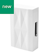 Blyss Avaa White Wired Door chime
